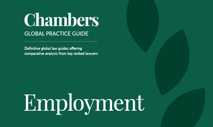 Chambers Global Practice Guide: Employment 2019