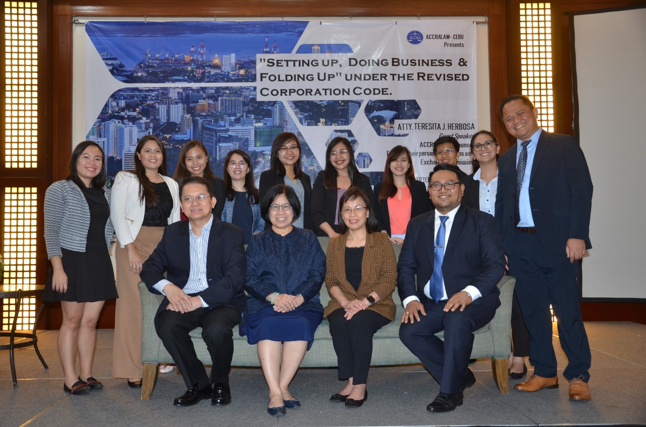 ACCRALAW Cebu's Business Forum