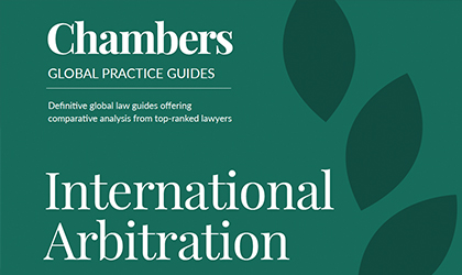 The Chambers International Arbitration 2020 Guide