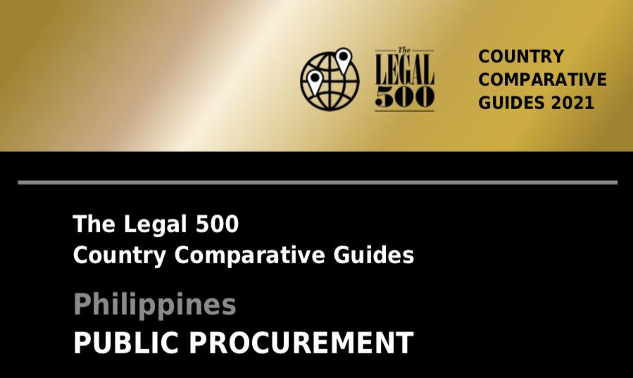 The Legal 500 Comparative Guide on Public Procurement