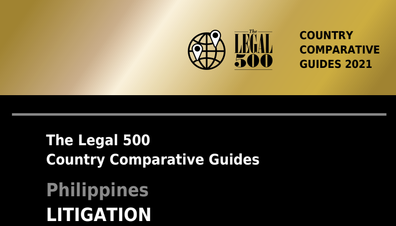 The Legal 500's 2021 Country Comparative Guide for Litigation